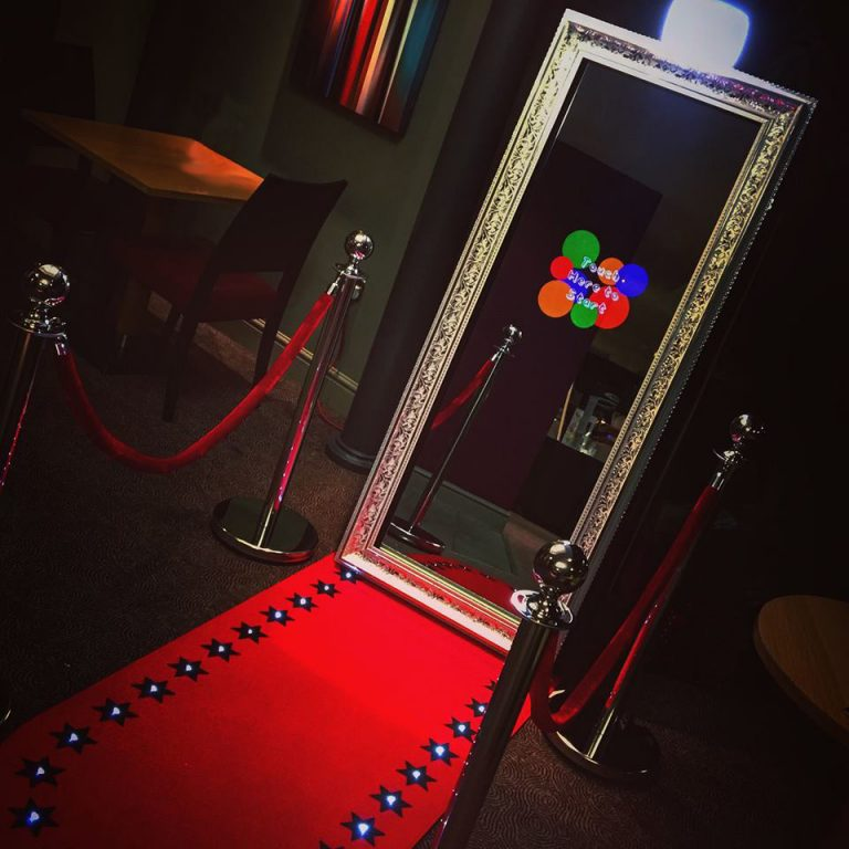 Magic Mirror Booking - Selfie Mirror - Photobooth